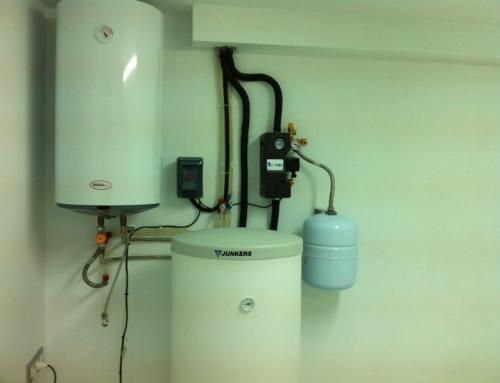 Instalación solar para agua caliente