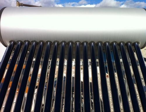 Compacto solar tubos de vacio