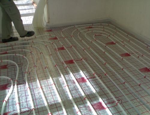 Instalacion suelo radiante refrescante