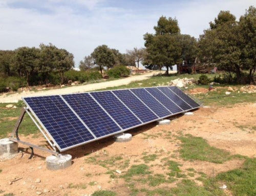 Montaje placas solares fotovoltaicas aislada